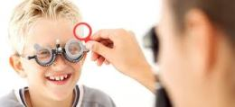 examen ocular en niños