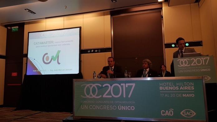 Primer software argentino para cirugía de catarata